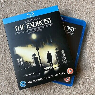 THE EXORCIST: Uncut Director's Cut (Blu-ray) *AS NEW with SLIPCASE*