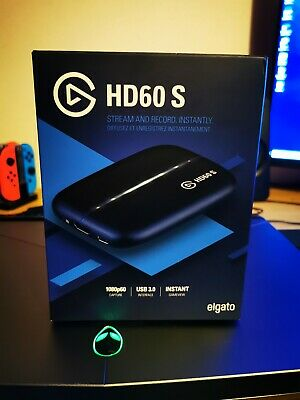 Elgato Game Capture HD60 S - Stream and Record in 1080p/60fps PS4 XBOX