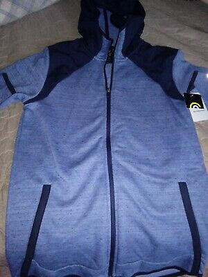 "NWT KIDS CIRCA /""CHAMPION/"" zip up hoodie fleece HEATHER GREY SIZE: S L XL M"