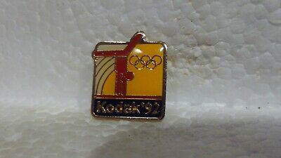 Kodak '92 Officiel Sponsor de Jeux Olympiques Gymnastique Collection Pin pin3627