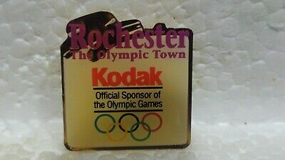 Kodak Officiel Jeux Olympiques Sponsor Rochester Town de Collection Pin pin3617