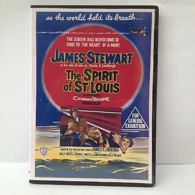The Spirit Of St Louis Starring James Stewart