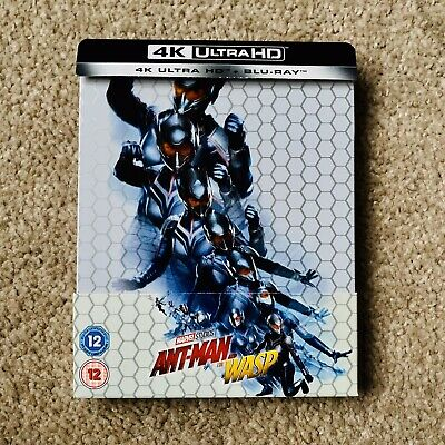 ANT-MAN AND THE WASP: STEELBOOK (4K UHD + Blu-ray) *AS NEW with J-CARD, RARE*