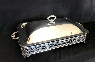 Sheffield Silver Plated Casserole Serving Dish