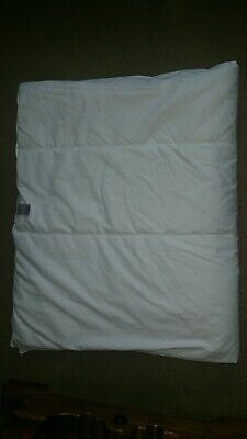 Mothercare Low Tog 4.0 Quilt 150x120cm to fit cot/bed. Excellent hardly used.