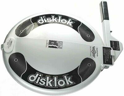 **PROTECT YOUR CAR** DISKLOK Steering Wheel Lock Small, Great Condition!