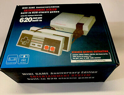 Mini Game Anniversary Edition 620 Built-In Classic Games Entertainment System