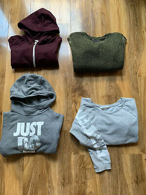 Girls Clothes Bundle Joblot Hoodie Jumper Winter NIKE H&M KYLIE Age 12-13 Years