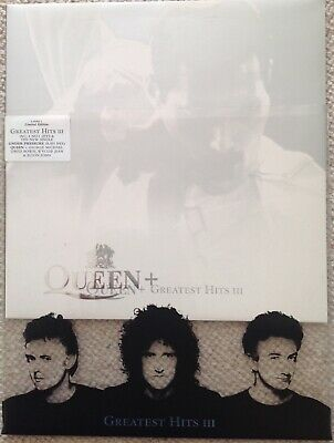 Queen – Greatest Hits III (1999) VINYL LIMITED EDITION with RARE POSTER Promo