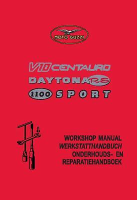 Moto Guzzi service workshop manual printed DAYTONA RS Printed May-1995