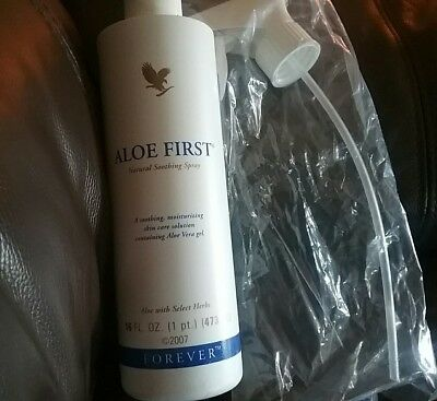 FOREVER ALOE FIRST NATURAL SOOTHING SPRAY 473ml with Attachment New & Sealed