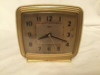 Art Deco Smiths Sectric Bakelite Desk Clock Alarm With Day And Night Switch