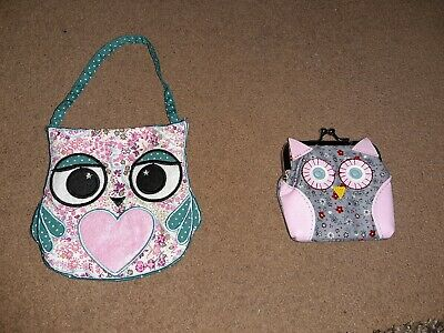 Small Owl Bag And Purse New