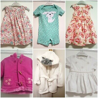 Baby Girls Clothes Bundle 12-18 Months Tu/F&F/Next, Dresses/Jacket/Dressing Gown