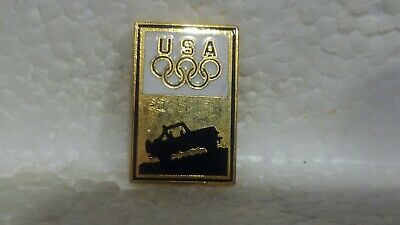 Jeep Officiel USA Jeux Olympiques Sponsor avec Camion de Collection Pin pin3646