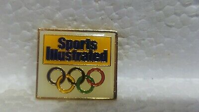 Sports Illustrée Officiel Sponsor de The Olympique Jeux Collection Pin pin3640