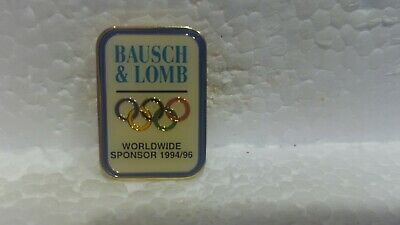 Baush & Lomb Officiel Jeux Olympiques Worldwide Sponsor 1994/96 Collection Pin