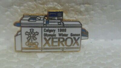 Xerox Calgary 1988 Officiel Sponsor Olympique Hiver Jeux Collection Pin pin3651