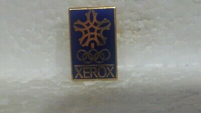 Xerox Officiel Sponsor de The Hiver Jeux Olympiques de Collection Broche pin3650