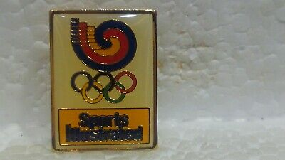Sports Illustrée Officiel Sponsor de The Olympique Jeux Collection Pin pin3642