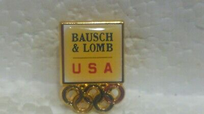 Baush & Lomb Officiel USA Sponsor de Jeux Olympiques Collection Broche pin3659
