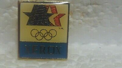 Xerox 1980 Officiel Jeux Olympiques Sponsor de Collection Broche pin3649