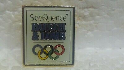 Baush & Lomb Seequence Officiel Jeux Olympiques Sponsor de Collection Pin