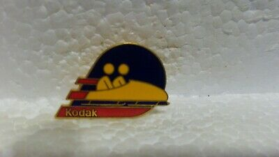 Kodak Officiel Sponsor de Jeux Olympiques Bobsleigh de Collection Broche pin3634