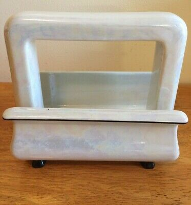 TOASTRITEPorcelain  Electric Toaster Mother of Pearl 1920s - No Heating Element