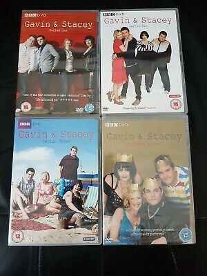 Gavin And Stacey Set DVD Series 1 2 3 Christmas Special Complete Collection New