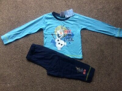 Boys Disney Frozen Pyjamas Size 2 - 3 years - Brand New!!!