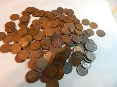 50 Unsearched  Lincoln wheat pennies      six lots available