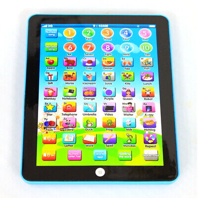 Kids Tablet Study Baby Learning Machine Educational Pad Boys Girls Children Toys