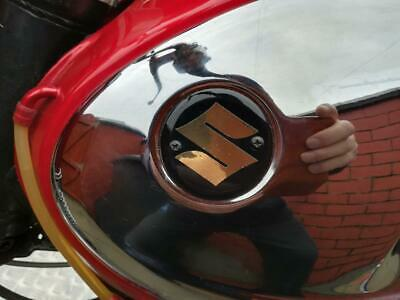 SUZUKI T2o Super Six  TANK BADGES (NEW)