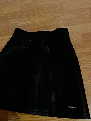Girls River Island Faux Leather Skirt - Aged 10