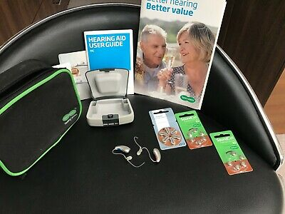 Specsavers advance 415 silver hearing aid