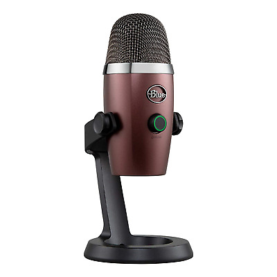 Blue Microphones Yeti Nano Professional Condenser USB Microphone with Multiple &