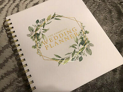 The Complete Wedding Planner Diary Book