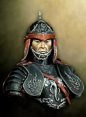 1//10 Resin Bust Of Ancient Warriors In Armor Figures Not Collected Unpainted