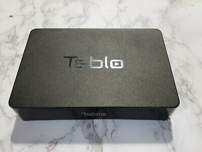 Tablo 2-Tuner Over-The-Air HDTV DVR TV Tuner WiFi Network Recorder SPVR2-01-NA