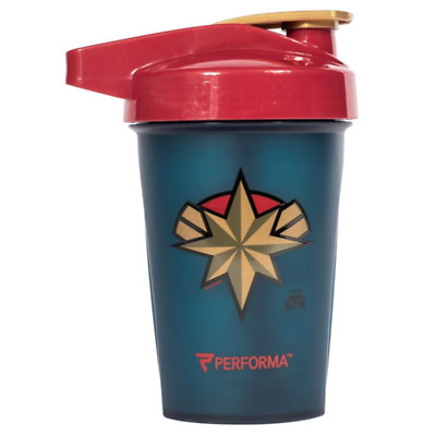 Captain Marvel Performa 20 Oz Shaker Bottle Activ Series NEW