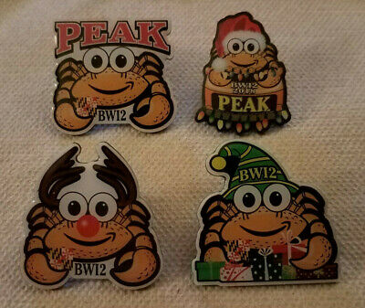 Amazon Peccy Pin - 4 Pin Set - Holiday Pack - Brand New