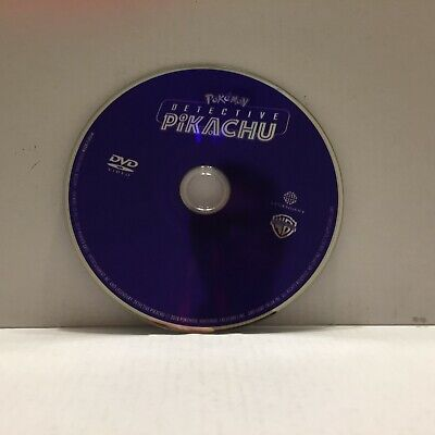 Detective Pikachu with Ryan Reynolds Movie DVD Disc Only