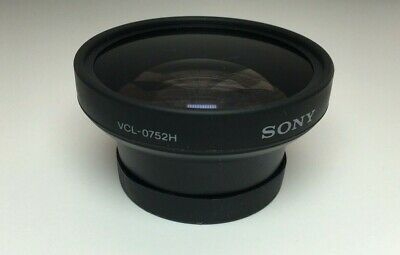 SONY Wide Conversion Lens VCL-0752H x0.7 Covers and bag Free Shipping