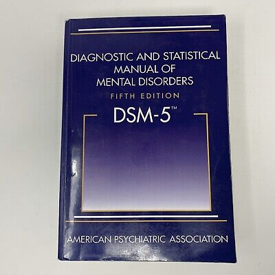 Diagnostic and Statistical Manual of Mental Disorders - DSM-5 5th Loose Pages