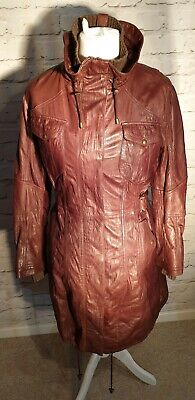 Leather Marks and Spencer Autograph long leather medium warm winter smart casual