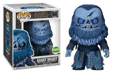 Funko Pop! Giant Wight (6-Inch, Game of Thrones) 60 - 2018 Spring Convention Exc