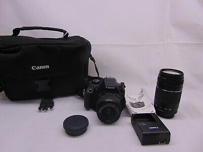 Canon EOS Rebel T6 18.0MP Digital Camera with 18-55 mm and 75-300 mm Lenses  #41