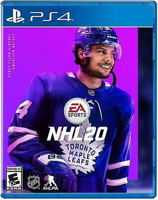NHL 20 Hockey *Brand New* PS4 (Sony Playstation 4, 2019) FAST FREE SHIPPING!!!!