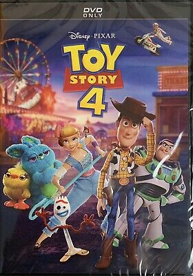 TOY STORY 4   <   DVD   >   *New *Factory Sealed